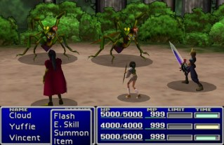 FFVII Battle System