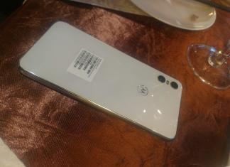 Smartphone Android Motorola One