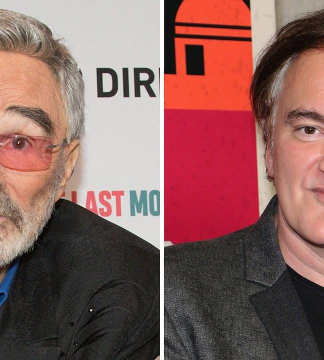 Burt Reynolds e Tarantino