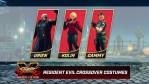 Street Fighter V: Arrivano i costumi a tema Resident Evil
