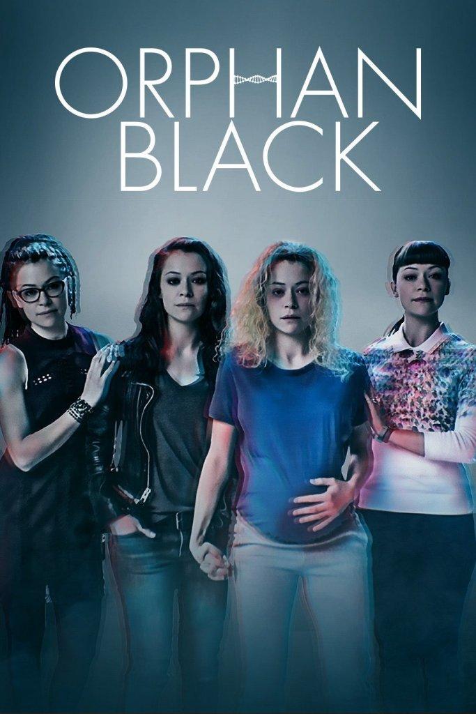 Orphan black - netflix - poster