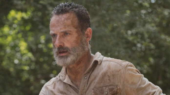 Rick Grimes, Andrew Lincoln in The Walking Dead.