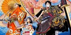 One Piece rivela nuovi Character Designs dei personaggi di Wano