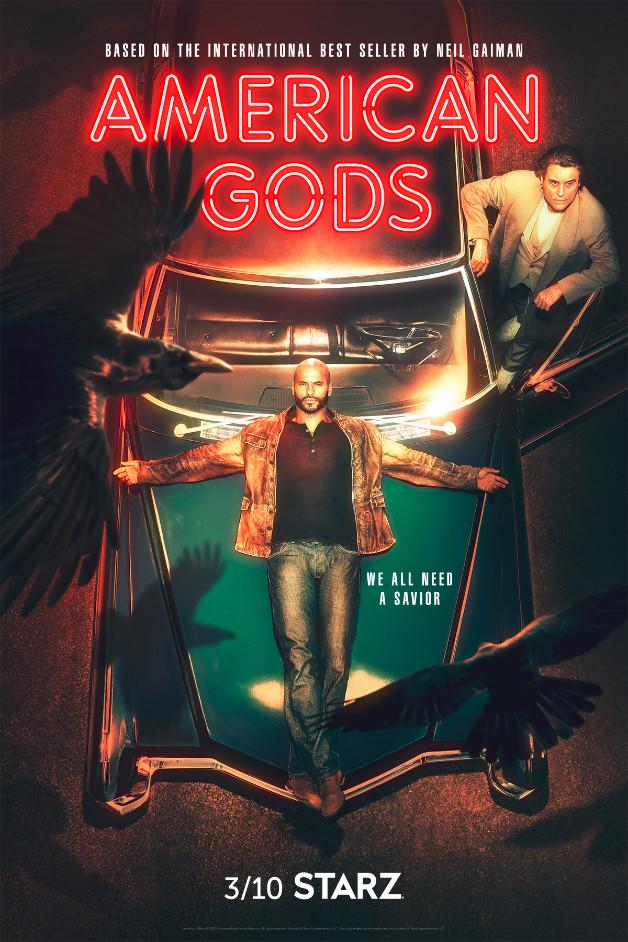 American Gods stagione 2 poster data di uscita amazon starz