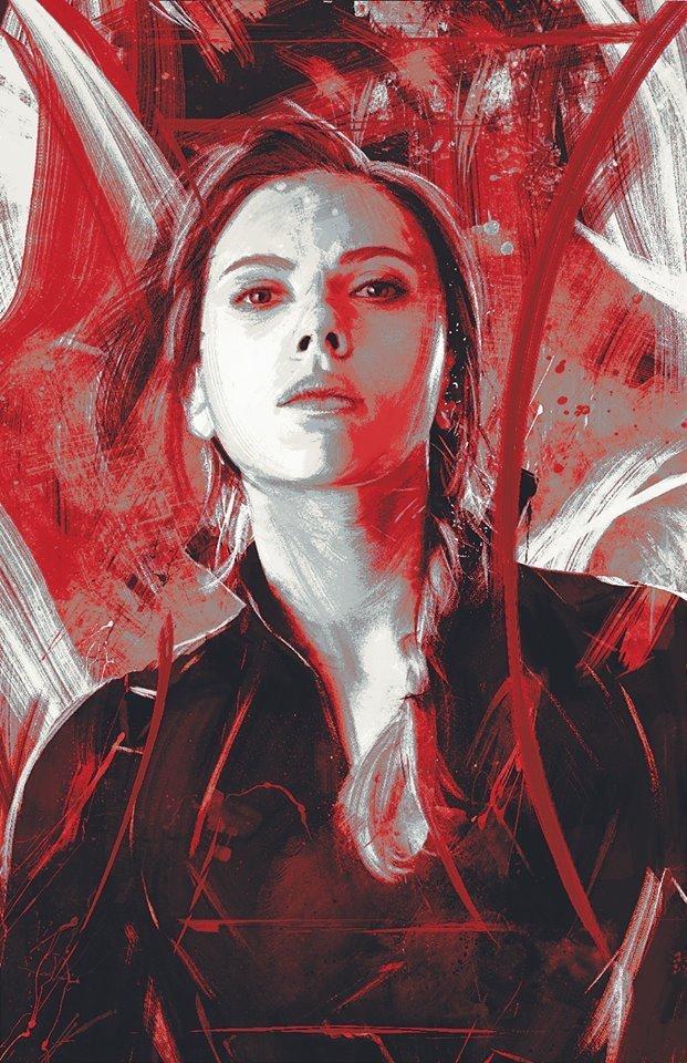 Avengers: Endgame - Vedova Nera