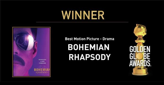 Golden Globes 2019 best drama bohemian rhapsody