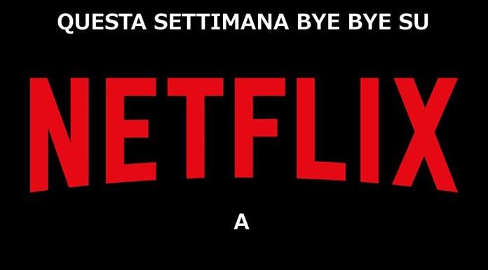 Netflix cancellazioni settimana gennaio film serie tv