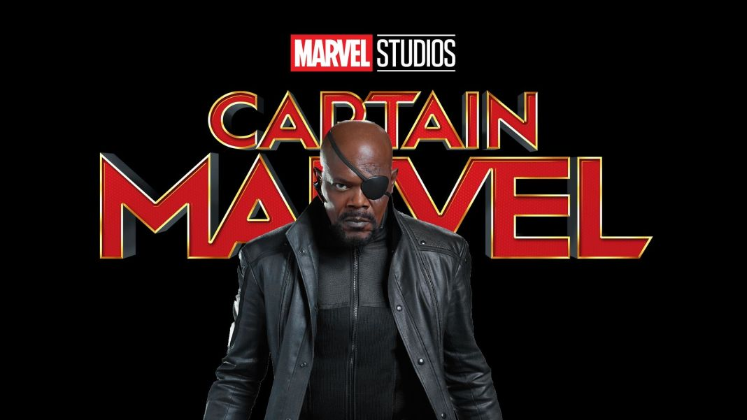 Captain Marvel Nick Fury Jackson Marvel Cinematic Universe