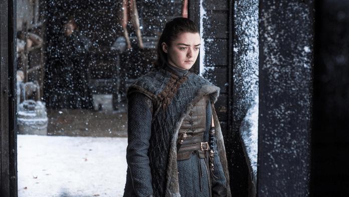 Game of Thrones 8, Arya Stark (Maisie Williams)