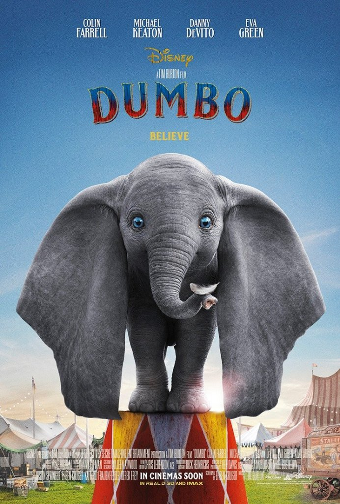 Dumbo - il nuovo poster del live-action Disney diretto da Tim Burton