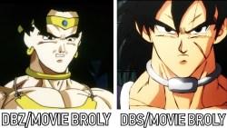Dragon Ball Super: meglio il nuovo o il vecchio Broly?