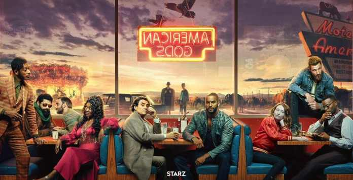 American Gods seconda stagione starz teaser trailer amazon prime video marzo