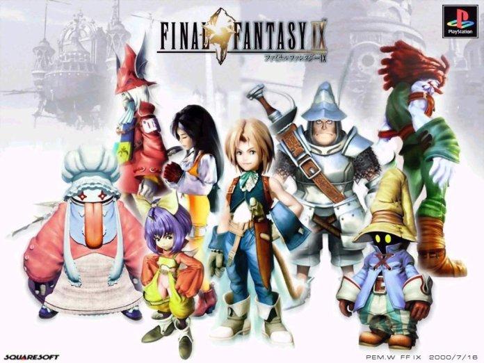 Final Fantasy IX nintendo switch xbox one trailer