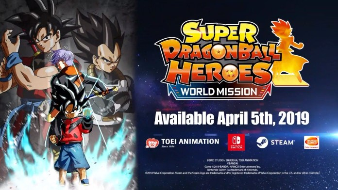 Super Dragon Ball Heroes trailer carte creazione switch