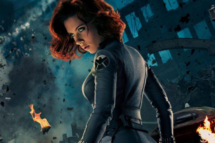 Black Widow Jim Barr Scarlett Johansson Marvel Avengers