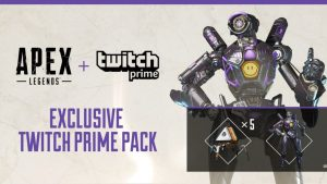 Apex Legends regala 1 skin e 5 packs ai membri Twitch Prime