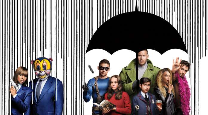 The umbrella academy seconda stagione netflix peter hoar gerard way e gabriel ba