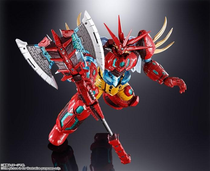 Soul Of Chogokin GX-87 Getter Emperor