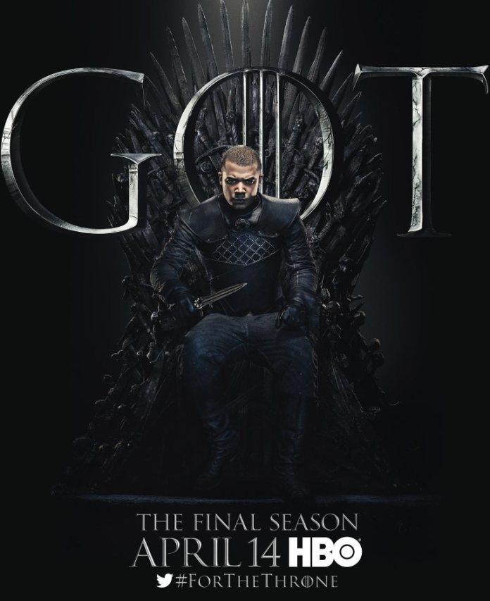 Game of thrones - Verme Grigio (Jacob Anderson)