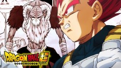 Dragon Ball Super: il power up di Vegeta