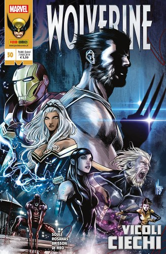 Panini Comics: annunciate le uscite Marvel del 7 marzo 2019 - Alla ricerca di Wolverine 50
