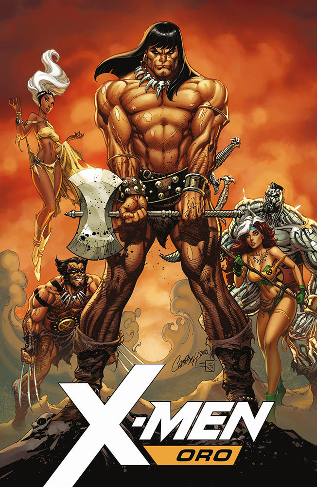 X-Men Oro 17 - Variant Conan