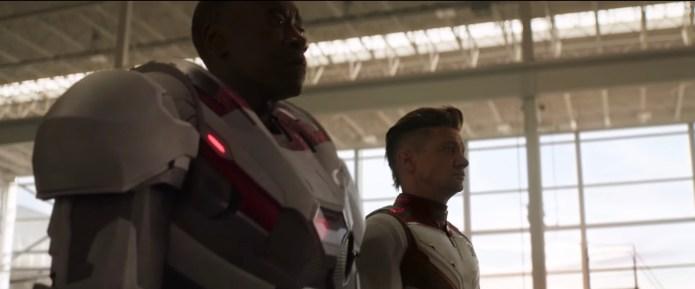 Nuovi Costumi Avengers: Endgame - War Machine e Occhio di Falco/Ronin
