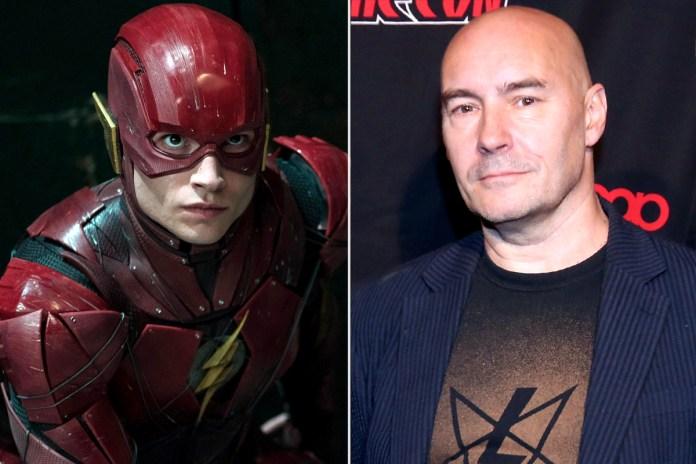 Ezra Miller (The Flash) e Grant Morrison