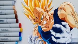Dragon Ball: quando Vegeta e Klimt si incontrarono