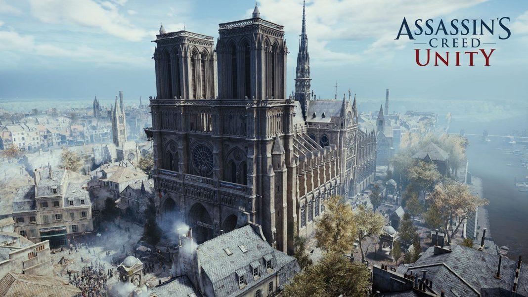 Assassin's Creed Unity gratuito su Uplay per solidarietà a Notre-Dame di Parigi