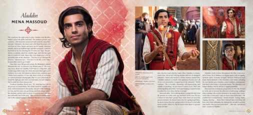 Aladdin, nuove immagini in anteprima dal libro del dietro le quinte del live-action