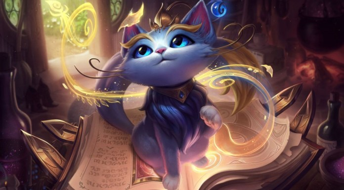 League of Legends Yuumi La Gattina Magica