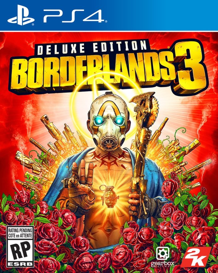 La Deluxe Edition PS4 di Borderlands 3