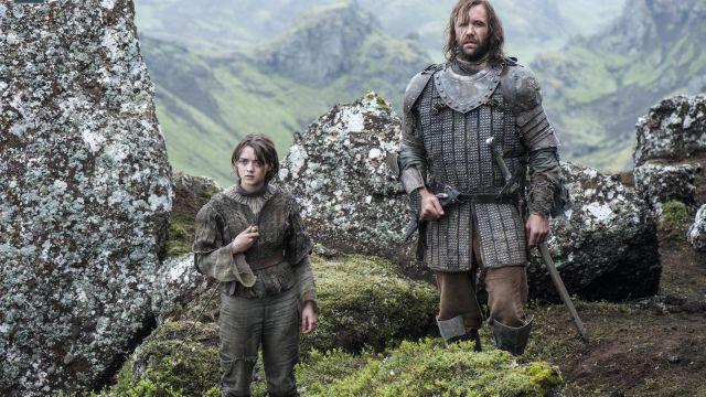 Arya Stark ed il Mastino