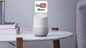 YouTube Music: free sugli speakers Google Home