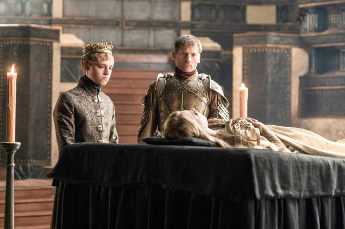 Re Tommen, Jaime Lannister al funerale di Myrcella
