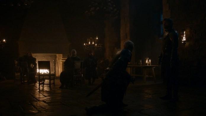Brienne nominata Cavaliere da Jaime
