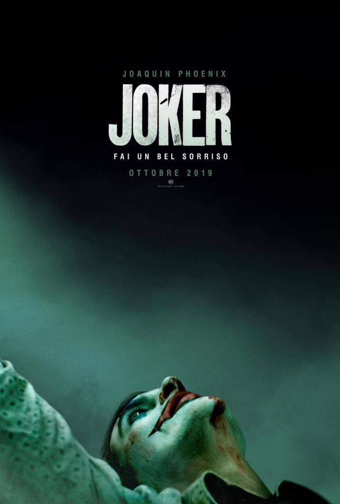 Joker, poster annuncio teaser trailer