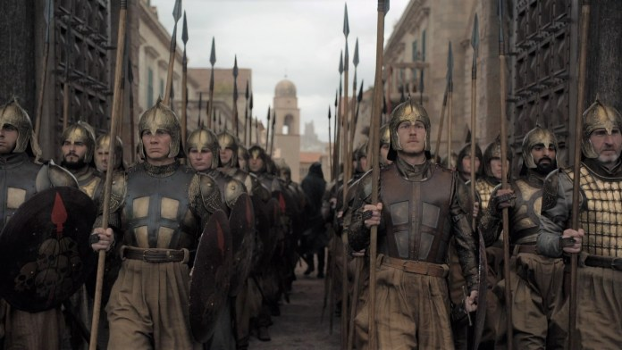Compagnia Dorata - Game of Thrones trailer episodio 8x05 (Trono di Spade) - (Credits: HBO)