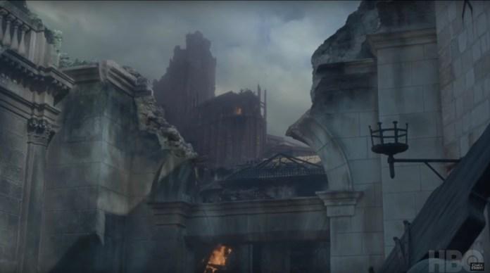 Fortezza Rossa distrutta - Video Promo episodio 8x06 (Credits: HBO)