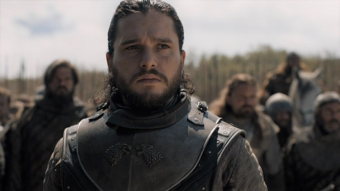 Jon Snow - Game of Thrones trailer episodio 8x05 (Trono di Spade) - (Credits: HBO)