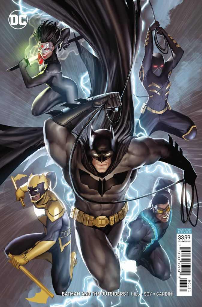 Batman and the Outsiders dc comics