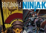 Britannia n. 3 - Ninja-K n. 2: Le uscite Variant di Maggio