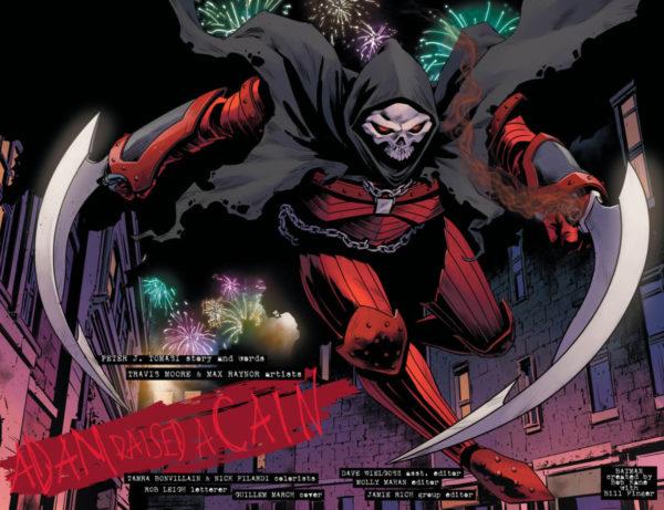 dc comics Detective Comics Annual #2 batman schedario nero mietitore