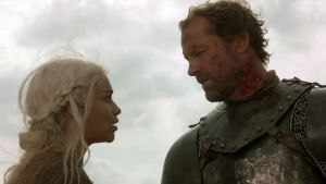 "Game of Thrones 8x04: Iain Glen sul ""sussurro"" di Daenerys"
