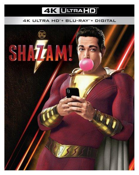 shazam! dc comics date e contenuti dell'edizione home-video di Shazam!