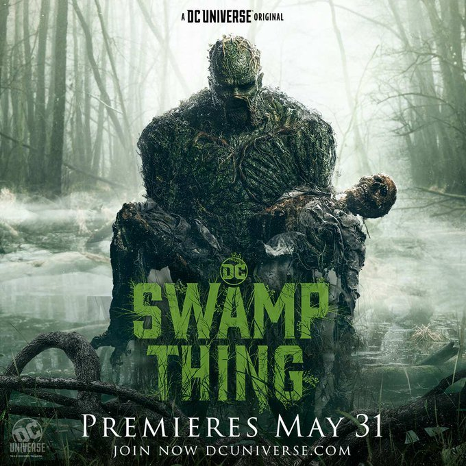 swamp thing dc universe rotten tomatoes