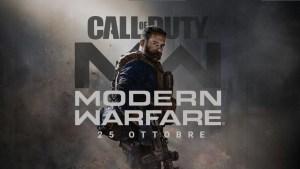 Modern Warfare: data e trailer del nuovo CoD rivelate