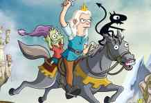 disincanto 2 netflix i simpson matt groening settembre serie animata