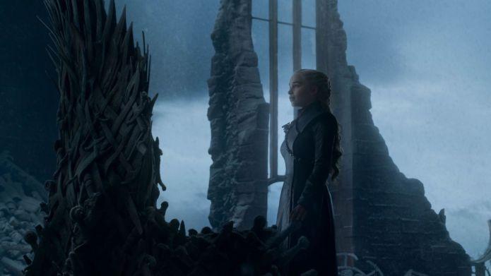 immagini GoT Daenerys ed il Trono di Spade